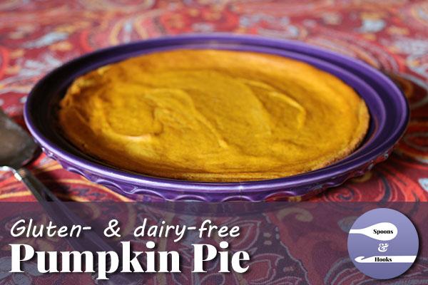 Recipe: Gluten-free & dairy-free pumpkin pie